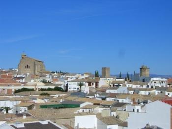 Panorámica de Torreperogil, Jaén (España) (Fuente: http://webjaen.wordpress.com)